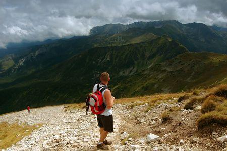 tatry: Tatra Mountains stormy landscape