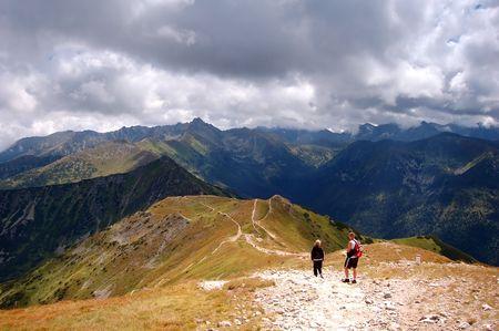 Tatra Mountains stormy landscape Stock Photo - 1134547