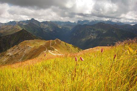Tatra Mountains stormy landscape Stock Photo - 1134552