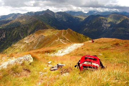 Tatra Mountains stormy landscape Stock Photo - 1134553