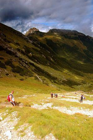 Tatra Mountains stormy landscape Stock Photo - 1134557