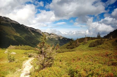 Tatra Mountains landscape, in the valley Stock Photo - 1134558