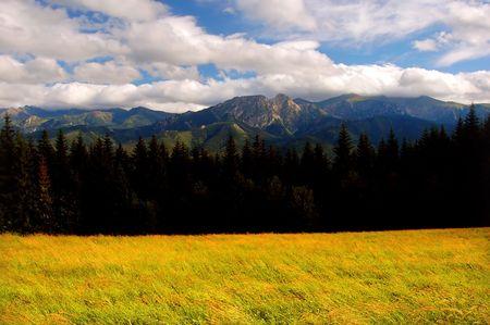Tatra Mountains landscape (Giewont peak) Stock Photo - 1134562