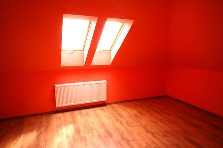 condos: Empty clean interior Stock Photo