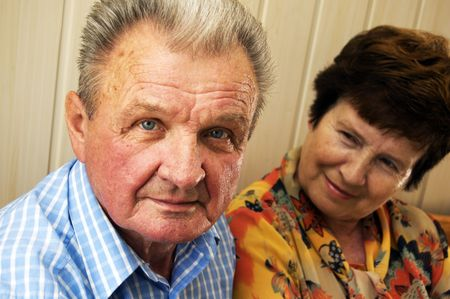 Senior couple and emotions between them Stock Photo - 3581455