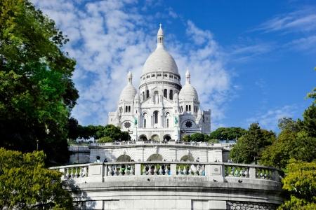 montmartre: Basilique du Sacr�-Coeur � Montmartre, Paris, France