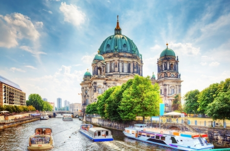 Berlin Cathedral. Berliner Dom. Berlin, Germany photo