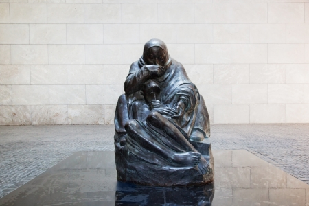 guard house: The Neue Wache - New Guard House interior in Berlin, Germany
