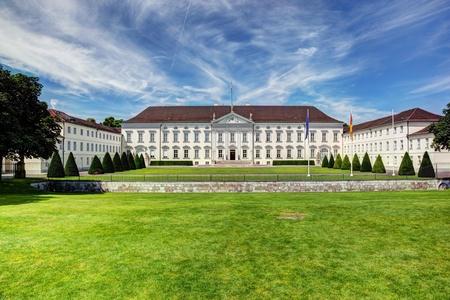schloss: Schloss Bellevue, the Presidential palace in Berlin, Germany Editorial