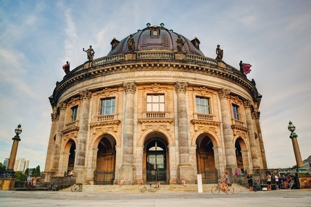 bode: The Bode Museum on the Museum Island in Berlin, Germany