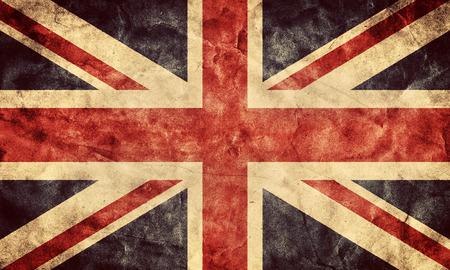 Das Vereinigte Königreich oder Union Jack Grunge Flagge. Vintage, Retro-Stil. Hohe Auflösung, HD-Qualität. Artikel aus meinem Grunge Fahnen Sammlung. Standard-Bild - 31476903