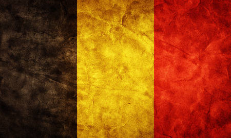 belgium flag: Belgium grunge flag. Vintage, retro style. High resolution, hd quality. Item from my grunge flags collection.