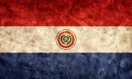 bandera de paraguay: Grunge bandera Paraguay. Vintage, estilo retro. Alta resolución, calidad hd. Artículo de mi colección de banderas del grunge.