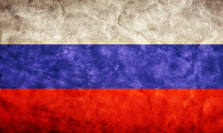 russian federation: Russia grunge flag. Vintage, retro style. High resolution, hd quality. Item from my grunge flags collection.