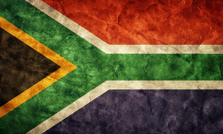 south africa soil: South Africa grunge flag. Vintage, retro style. High resolution, hd quality. Item from my grunge flags collection.
