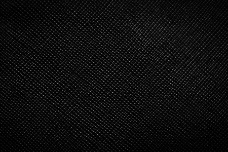 Genuine black leather background, pattern, texture. Bumpy, grained structure photo