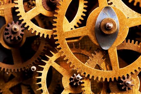 precise: Grunge gear, cog wheels background. Concept of industrial, science, clockwork, technology.