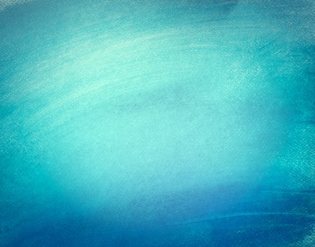Blue watercolor paint on canvas. Abstract art background for creative design.