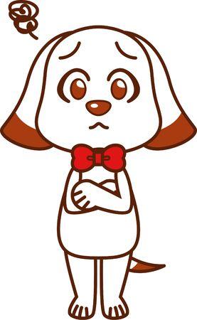 Dog Teacher (trouble) Illustration