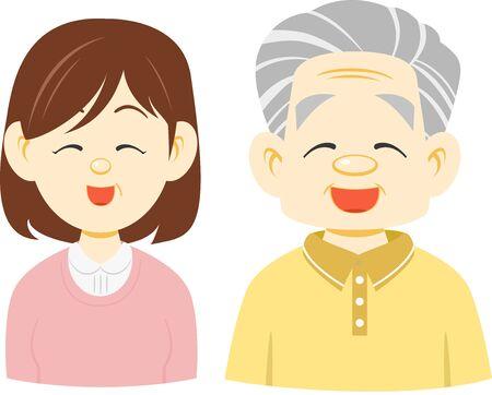 Elderly Person (Laughs)