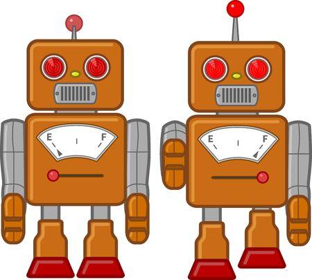 Tin Robot Toy