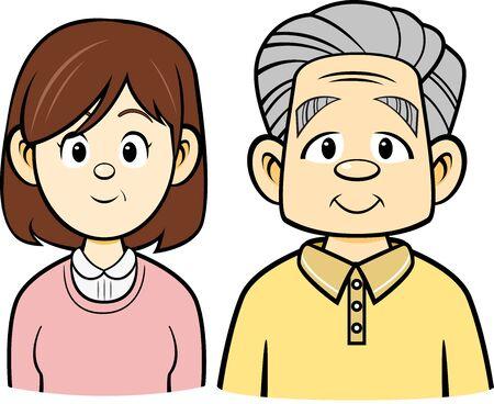 Senior Citizens (Smile Outline)