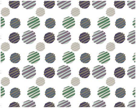 Dot Pattern Background Circle