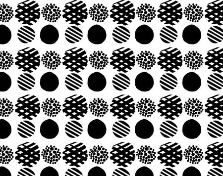 Dot Pattern Background Round Circle Seamless