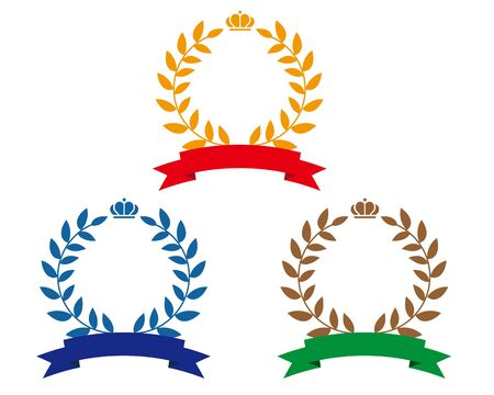 Crown Laurel Ranking Star Ribbon