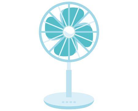 illustration Vector of a fan, Electric fan icon
