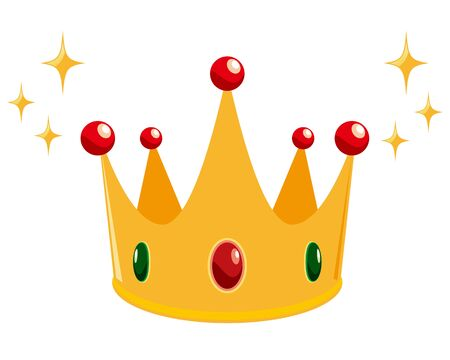 Gold crown icons. crown awards for winners, champions, leadership.
