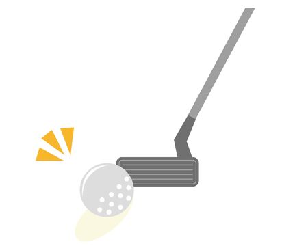 Golf club icon.  illustration Vector about golf .