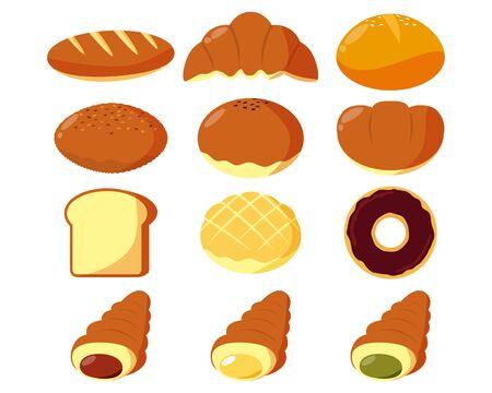 Bread vector illustration illustration .?Sweet bread
