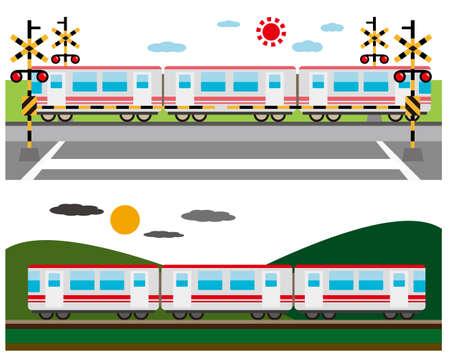 Train Vector Illustration, vehicle icon  Vektoros illusztráció