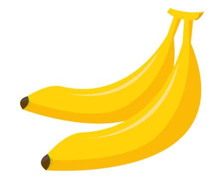 Banana vector illustration , Tropical fruit