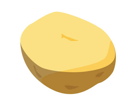 Vector illustration of potato, vegetable icon