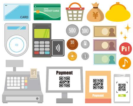 Online payment. smartphone. vector illustration . Electronic payment. Векторная Иллюстрация