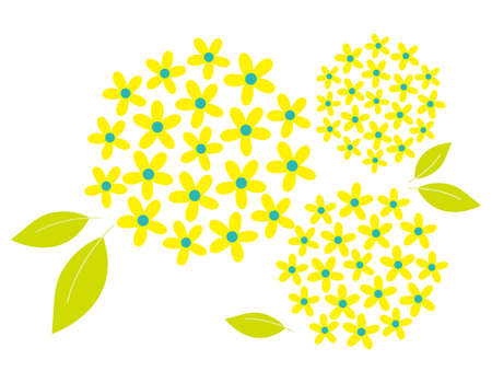 Vector illustration of colorful flowers. Background illustration.
