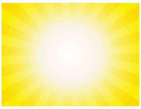 Radiation background. Vector illustration.