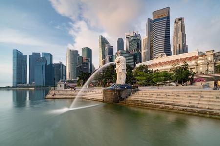 Singapore CBD view