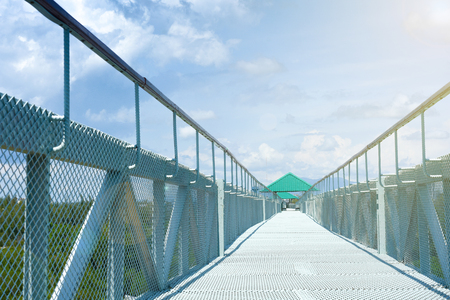 Bridge scenic view, beautiful atmosphere for a holiday.