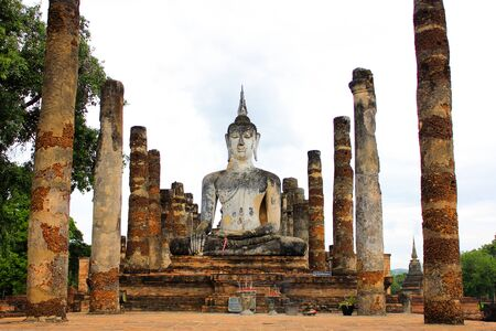 old town: The old town of Sukhothai