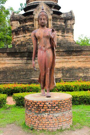 buddha statue: Buddha statue Sukhothai