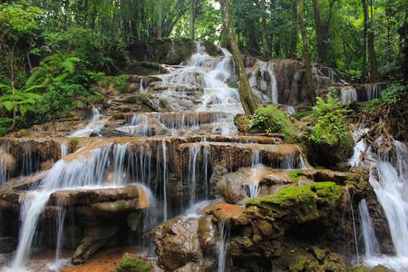 multi layered: Multi layered waterfall