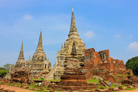 wat phra sri sanphet ayutthaya thailand