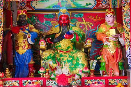 The statue of Guan Yu