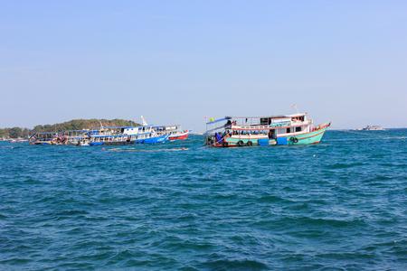 The sea of Thailand Stock Photo