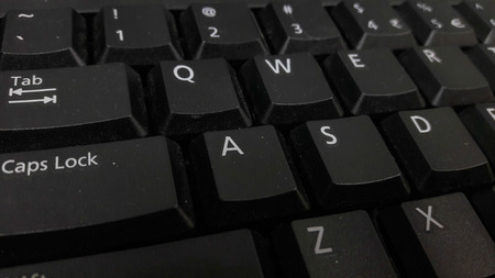 Button on the keyboard