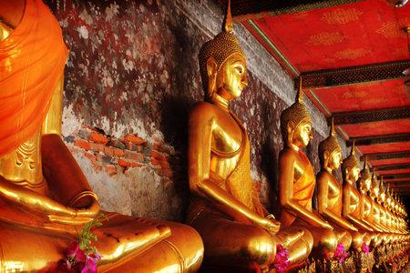 Thai Buddha Bangkok, Thailand