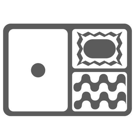 Lunch Bento box lunch box illustrations icons